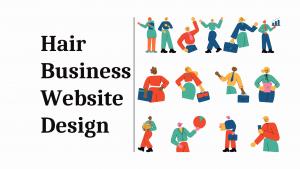 Hair Business Website Design